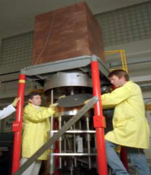 Comet Critical Assembly ORNL