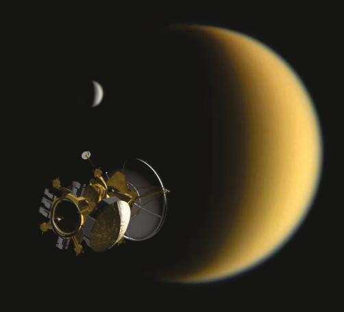 TSSM Artist's Impression, NASA