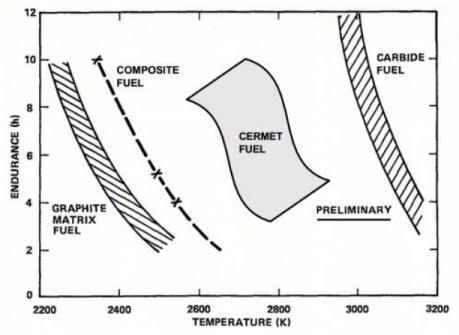 Fuel Element Temperature Map, Borowski