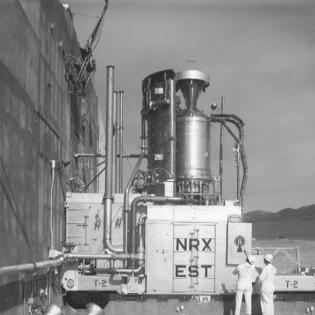 NERVA NRX-EST Test Stand, image courtesy DOE