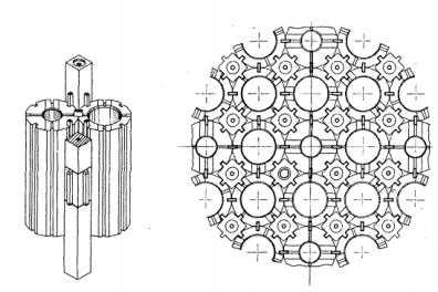 AGR Graphite Configuration