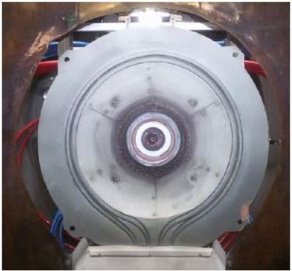 ISS SX-3 AF-MPD Helmholtz coil