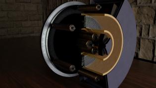 SPT type thruster, image S. Graham BeyondNERVA