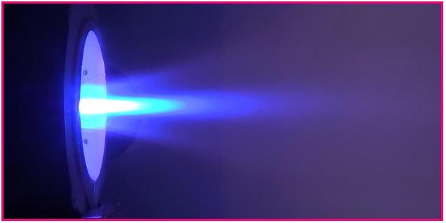SX-3 plume (argon propellant), IRS