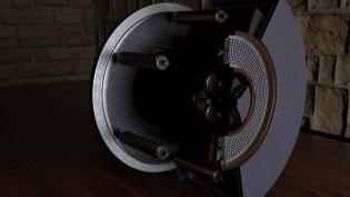 TAL Type Thruster, image S. Graham BeyondNERVA
