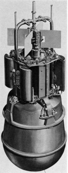 Reactor and Shield Cutaway